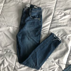 Frame Denim Ali High Rise Cigarette Skinny Jeans